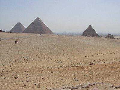Pyramidy v Gíze - Největší lákadlo Káhiry