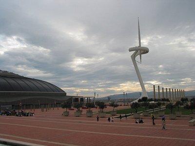 Areál olympijských stadionů