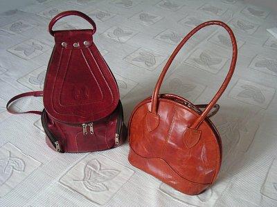 Batůžek a kabelka
