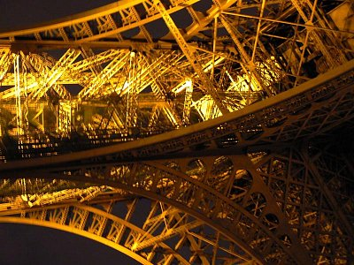 Eiffelovka - detail