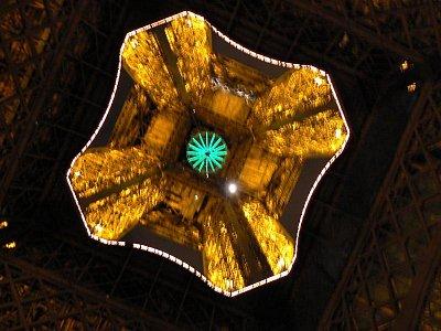 Eiffelovka zespodu