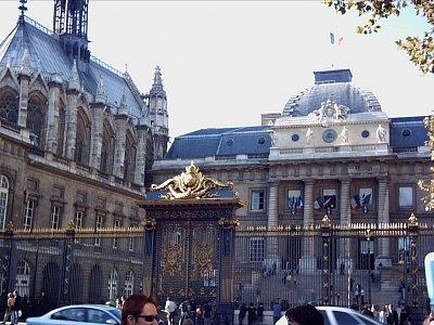 Sainte Capelle a Justiční palác (nahrál: slávka)