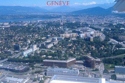 Ženeva - Pohled z letadla (nahrál: Máca)