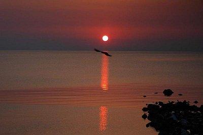 východ slunce - Skala Potamia (nahrál: Sea)