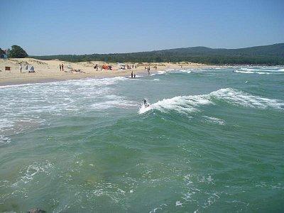 Severna plaža - je zde možné provozovat naturismus (nahrál: Chrobák)