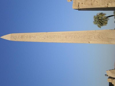 Karnacký obelisk královny Hatšepsut (nahrál: lovenka13-Bára)