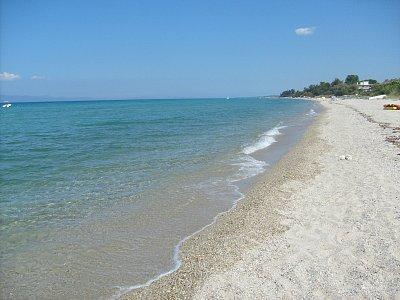 Polichrono - vedlejší pláž (nahrál: NataliD)