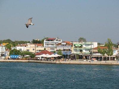 Hlavní město Thassosu-Limenas-přístav