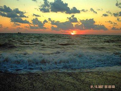 Západ slunce v Sevastopolu (nahrál: rosta)
