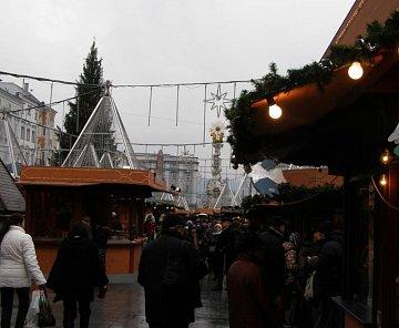 Adventní Linz - prosinec 2008