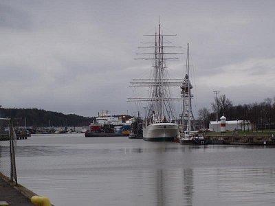 Lodě na řece v Turku (nahrál: Jiří Birner)
