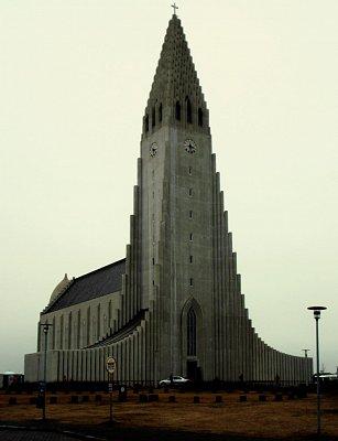 Reykjavík,Hallgrímkirkja (nahrál: petras21)