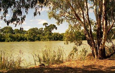 Murray River - Nedaleko Mannumu (nahrál: Luboš)