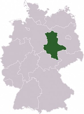 Sasko-Anhaltsko - Sasko-Anhaltsko  Zdroj: wikipedia.org (nahrál: admin)