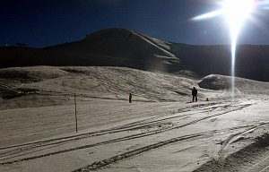 Francie, lyže, leden 2011