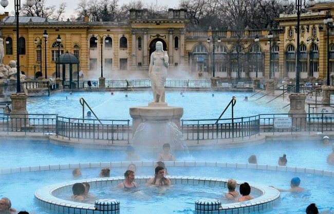 Horké vody Budapešti