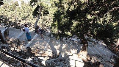 Tsampika - schody (nahrál: Yveta)